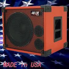 8 ohm bass speaker cabinet greg s pro audio 1x12 bass guitar speaker cabinet 350w 8 ohms fire