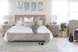 Greensburg Storage Sleigh Bedroom Set Broyhill Kearsley Gray Sleigh Storage Bed Mathis Brothers Furniture