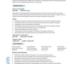 chef resume examples chef resume 1 chef resume sample examples