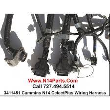 cummins 1996 u0026 newer n14 celectplus engine wiring harness 3411481