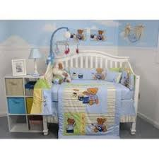 Rock N Roll Crib Bedding Soho Blue And Brown Rock Band Baby Crib Nursery Bedding Set 13 Pcs
