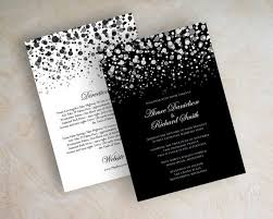 wedding invitations black and white black and white wedding invitations cloveranddot