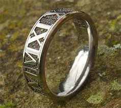 numeral ring numeral titanium ring love2have in the uk