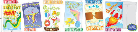 really big greeting cards cards