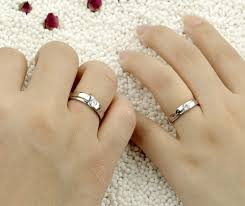 couples rings set images Cheap couples promise rings set jpg