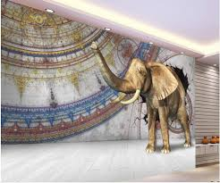 home decoration 3d customized wallpaper elephant 3d painting photo home decoration 3d customized wallpaper elephant 3d painting photo wall murals wallpaper in wallpapers from home improvement on aliexpress com alibaba