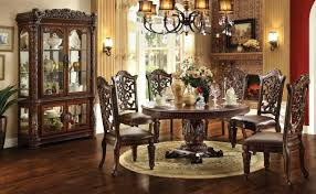cherry dining room sets traditional furniture manufacturers set cherry dining table chairs room set amish for sale
