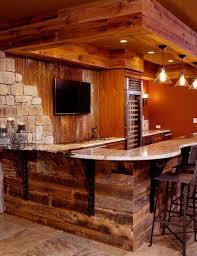 Rustic Basement Ideas 77 Best Barnwood Bar Images On Pinterest Rustic Bars Bar Ideas