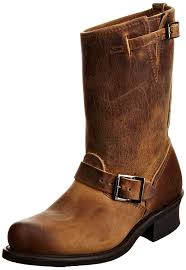 womens boots frye frye loafers frye engineer 12r womens boots brown