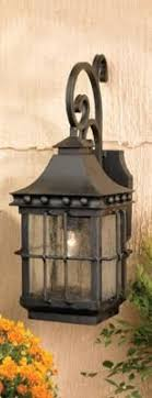 Black Exterior Light Fixtures Homesteader Seeded Glass Outdoor Wall Lantern Carriage House
