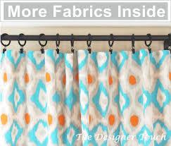 orange curtain panels aqua blue curtains nursery curtains
