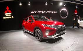 2018 mitsubishi eclipse cross a new suv for the brand picture