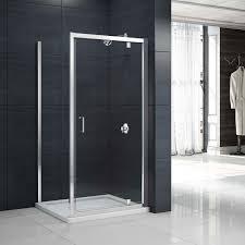 Pivot Shower Door 900mm Merlyn Mbox Pivot Shower Door Mbp900 900mm Chrome Clear
