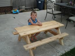 Kids Wooden Picnic Table Kids Wooden Picnic Table U2014 Unique Hardscape Design Kid Picnic