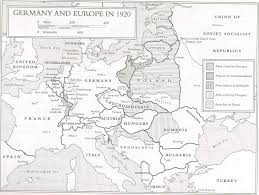 Europe Outline Map by Maps Map Of Europe In 1920
