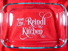 engraved dishes 14 best personalized 9 x 13 glass pyrex baking dishes images on