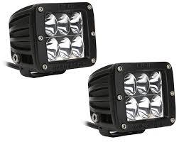 rigid industries led driving lights rigid industries dually d2 led light pair driving pattern quadratec