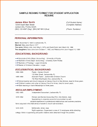 resume formating sle of simple resume format best of cover letter resume