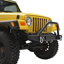 classic jeep wrangler 87 06 jeep wrangler tj yj classic sport front bumper w oe fog