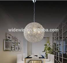 Light Crystal Chandelier Globe Shape Vintage Crystal Chandeliers Decoration Ceiling Light