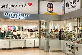 flying tiger store hamburg airport welcomes danish design flying tiger travel retail