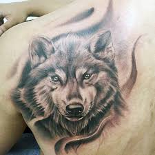 40 wolf back designs for fierce ink ideas