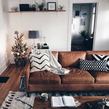 Living Room Decor With Brown Leather Sofa Fantastic Brown Leather Sofa Living Room Design 29 In Home