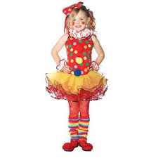 Ballerina Halloween Costume Girls Circus Clown Ballerina Child Halloween Costume