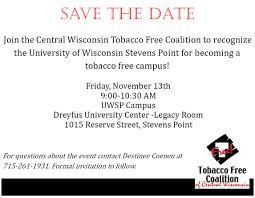 september 2015 central wisconsin tobacco free coalition