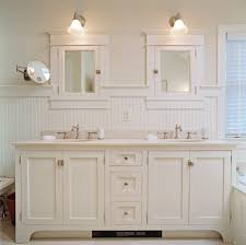 Shaker Style Vanity Bathroom by Vintage Vanity With Flush Inset Doors Shaker Profile Cabinet