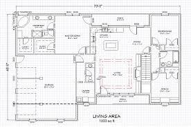 ranch home plan single level finished basement house plans 32431