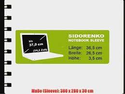 designer laptoptasche sidorenko designer laptoptasche notebooktasche sleeve gr e 370 cm