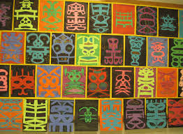 Cool Art Project Ideas by 5th Grade Symmetrical Name Design Lesson Ideas Pinterest