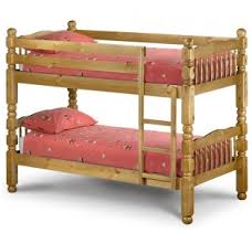 Chunky Bunk Solid Pine Bunk Bed - Pine bunk bed