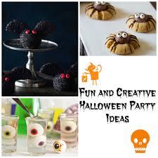 fun and creative halloween party ideas
