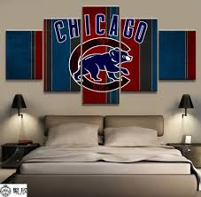 Baseball Bedroom Decor Online Get Cheap Baseball Paintings Aliexpress Com Alibaba Group