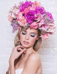 flower crowns avant garde flower crowns burnett s boards wedding inspiration