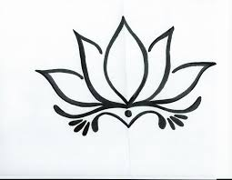 drawing of a simple flower easy drawings of flowers free download