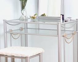 Mirrored Desks Furniture Desk Stunning Glass Mirror Desk Marais Mirrored Furniture