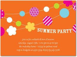 invitations summer patio front persimmon inspiration