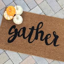 16 best fall doormats images on coir weathered paint