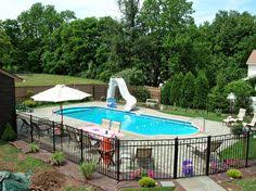 Backyard Pool Fence Ideas Landscaping Around Pool All Natural Landscapes Pools