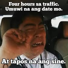Traffic Meme - memes emotions when stuck in metro traffic abs cbn news