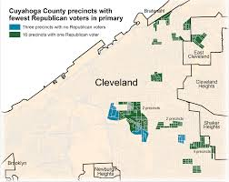 Map Cleveland Ohio by A Visit To Cleveland Precincts With No Republican Voters Video