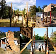 Backyard Jungle Gym by The Build It Your Self Obstacle Course Its Like A Giant Jungle