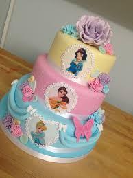 princess cakes 3 tier pastel princess cake with handmade future baby