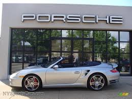 2008 porsche 911 turbo cabriolet 2008 porsche 911 turbo cabriolet in arctic silver metallic