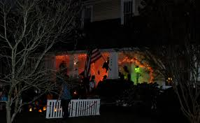 Halloween Lights On House A Haunting Halloween On North Main Wake Forest Historical Museum