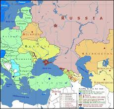map of europe russia and the independent republics post soviet conflicts