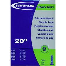 chambre a air velo 20 pouces schwalbe chambre à air de pneu vélo large 20 pouces valve schrader